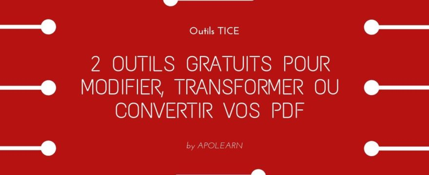 Outils TICE test PDF Apolearn