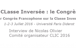 INTERVIEW Nicolas Olivier