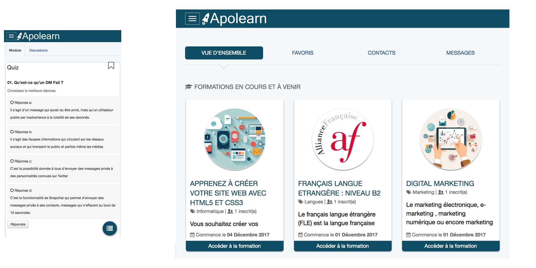 Apolearn Tablette, PC et smartphone